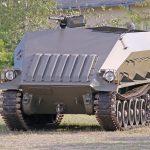 Saurer Schützenpanzer Prototyp 4K3H - so stellte man sich noch Ende der 1950er Jahre den Schützenpanzer der Zukunft vor © Doppeladler.com