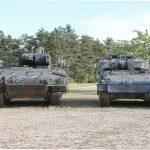 Schützenpanzer Puma (41 t, 1090 PS) und Ulan (28 t, 720 PS) © Doppeladler.com