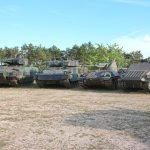 60 Jahre Schützenpanzer-Entwicklung in einem Bild - Puma, Ulan, 4K4E/F und 4K3H Prototyp © Doppeladler.com