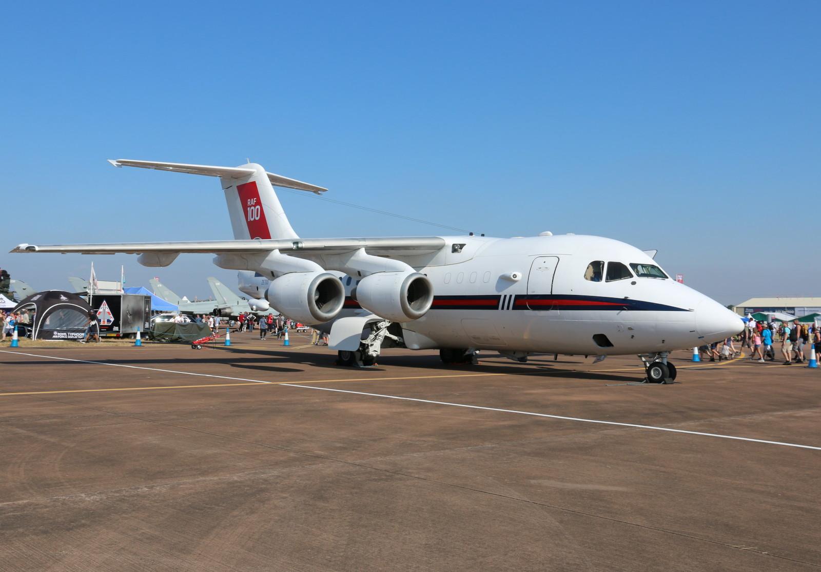 British Aerospace BAe 146-100 Statesman ZE700 © Doppeladler.com
