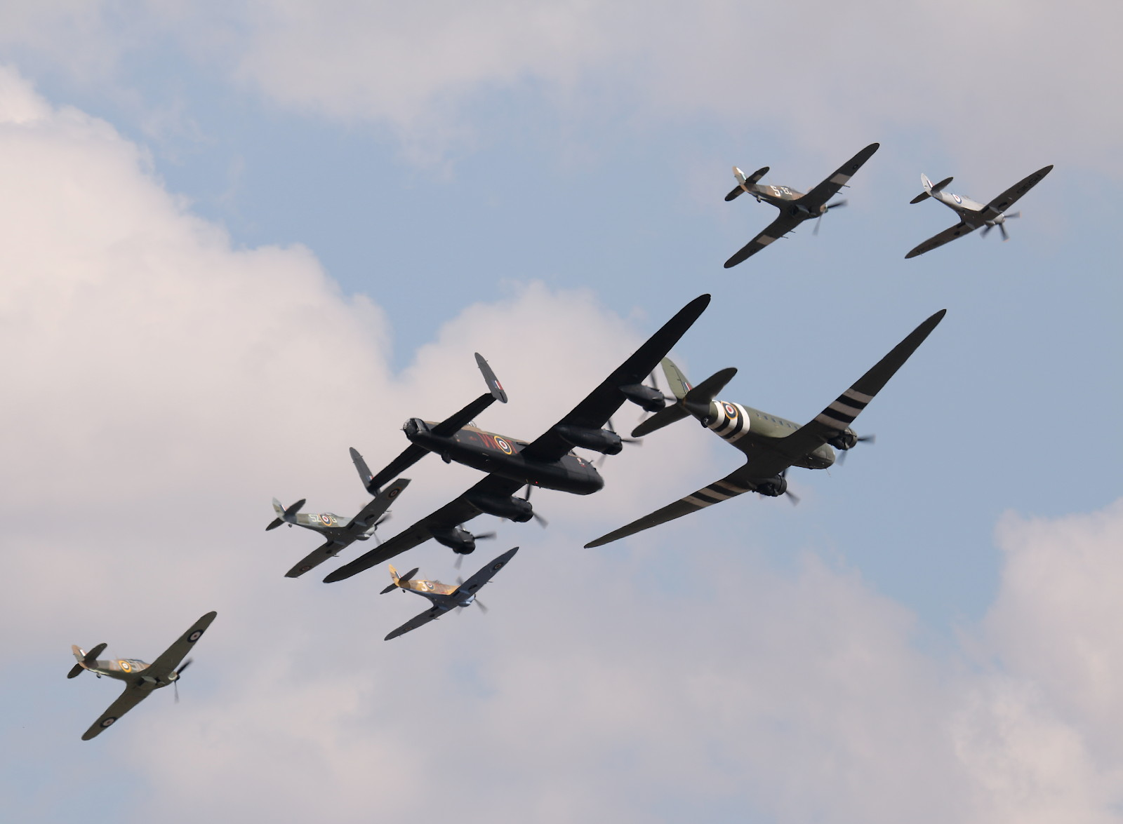 Battle of Britain Memorial Flight (BBMF) der Royal Air Force © Doppeladler.com