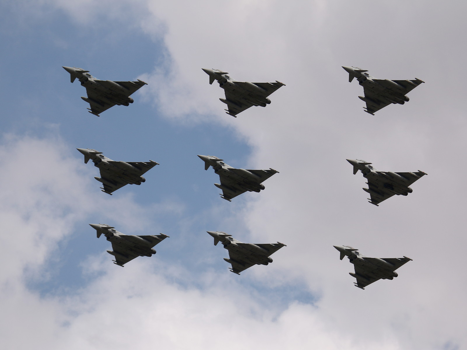 Eurofighter Typhoon der Royal Air Force © Doppeladler.com
