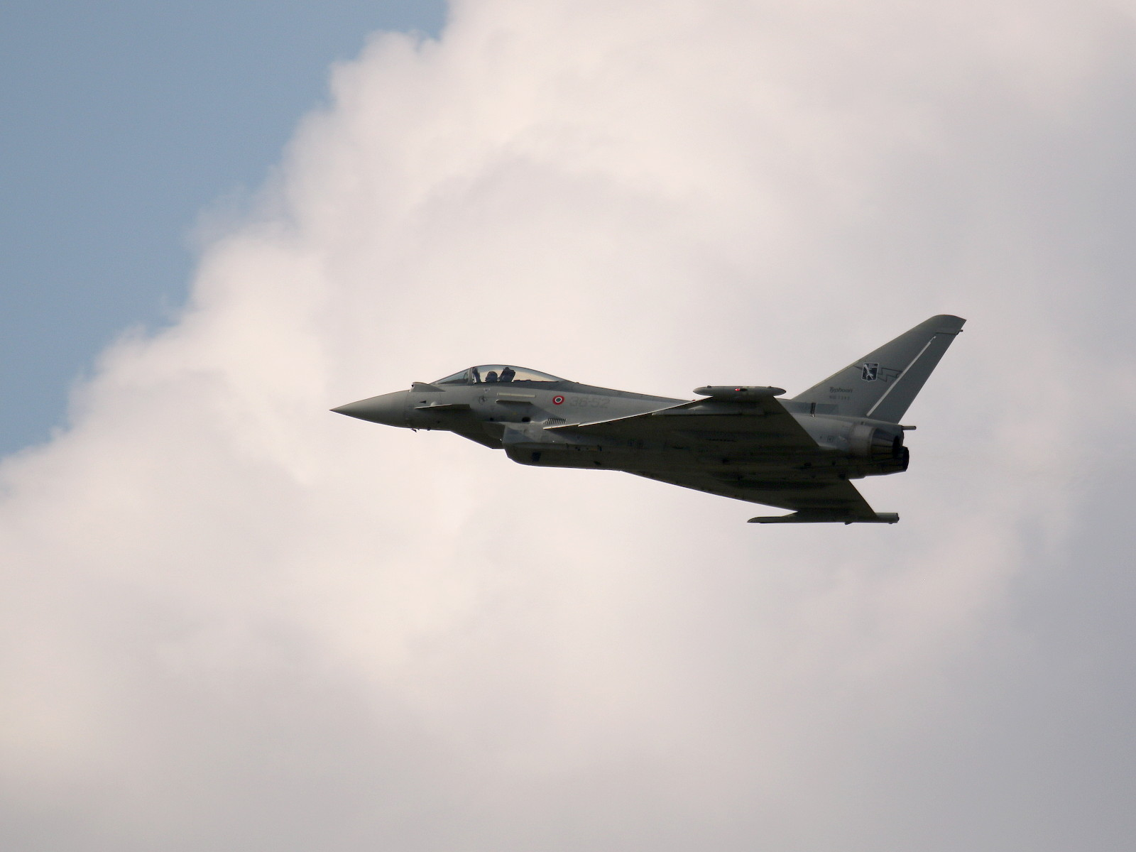 Eurofighter Typhoon 36-52 der italienischen Luftstreitkräfte © Doppeladler.com