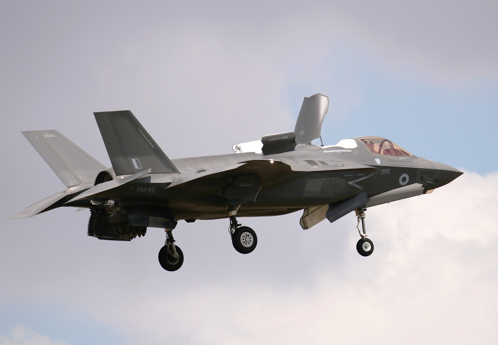Lockheed Martin F-35B Lightning II ZMI45 der Royal Air Force © Doppeladler.com