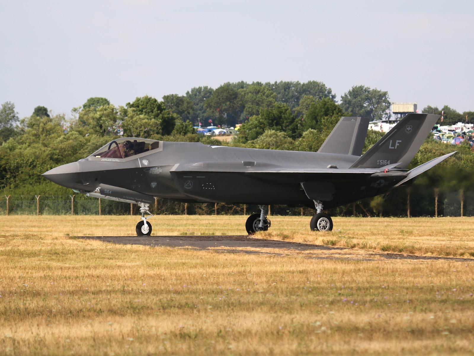 USAF Lockheed Martin F-35A Lightning II 15-5127 © Doppeladler.com