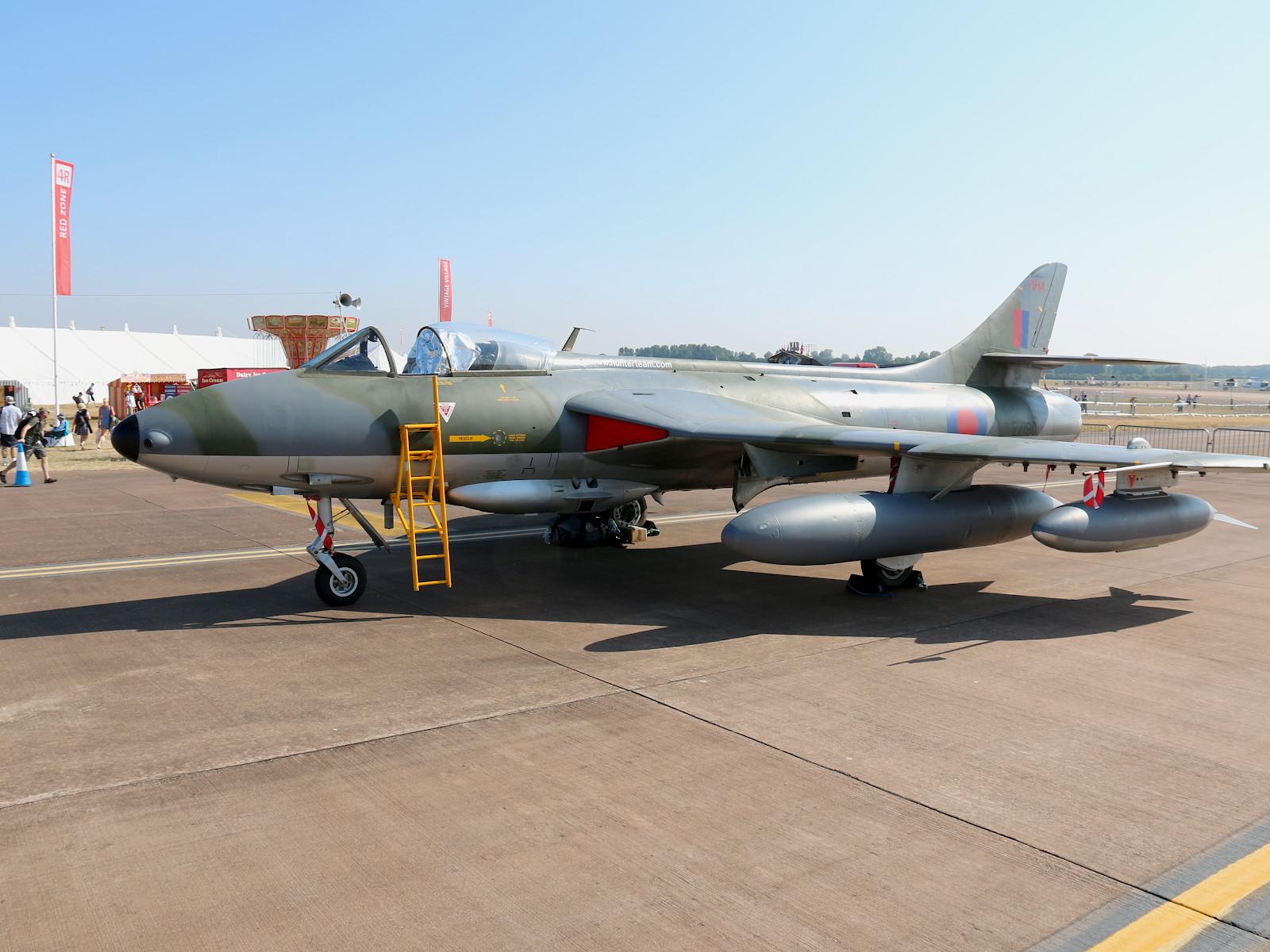 Hawker Hunter F.58 ZZ190 © Doppeladler.com