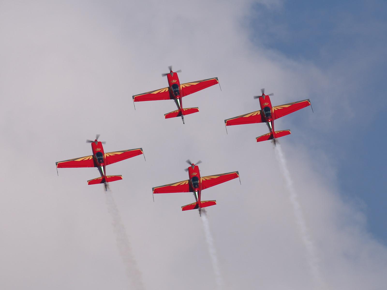 Royal Jordanian Falcons auf Extra 300LX © Doppeladler.com