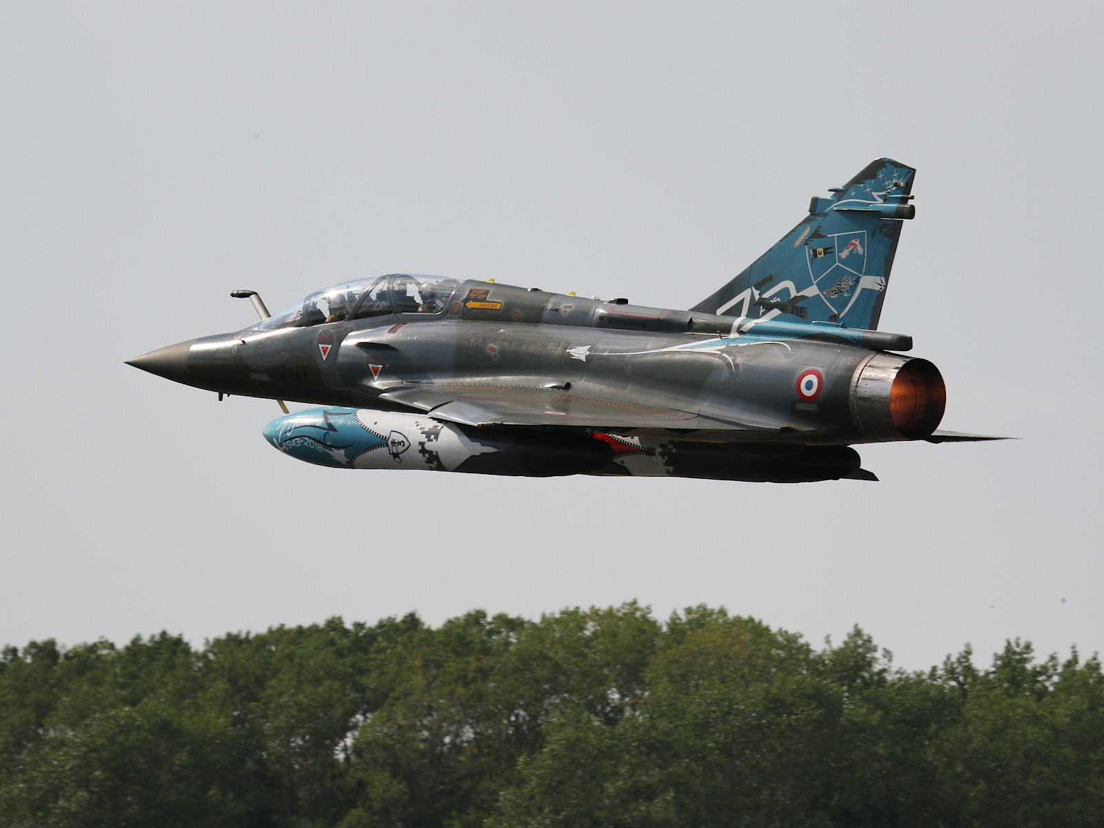 Dassault Mirage 2000D 3-IT Couteau Delta Display Team © Doppeladler.com