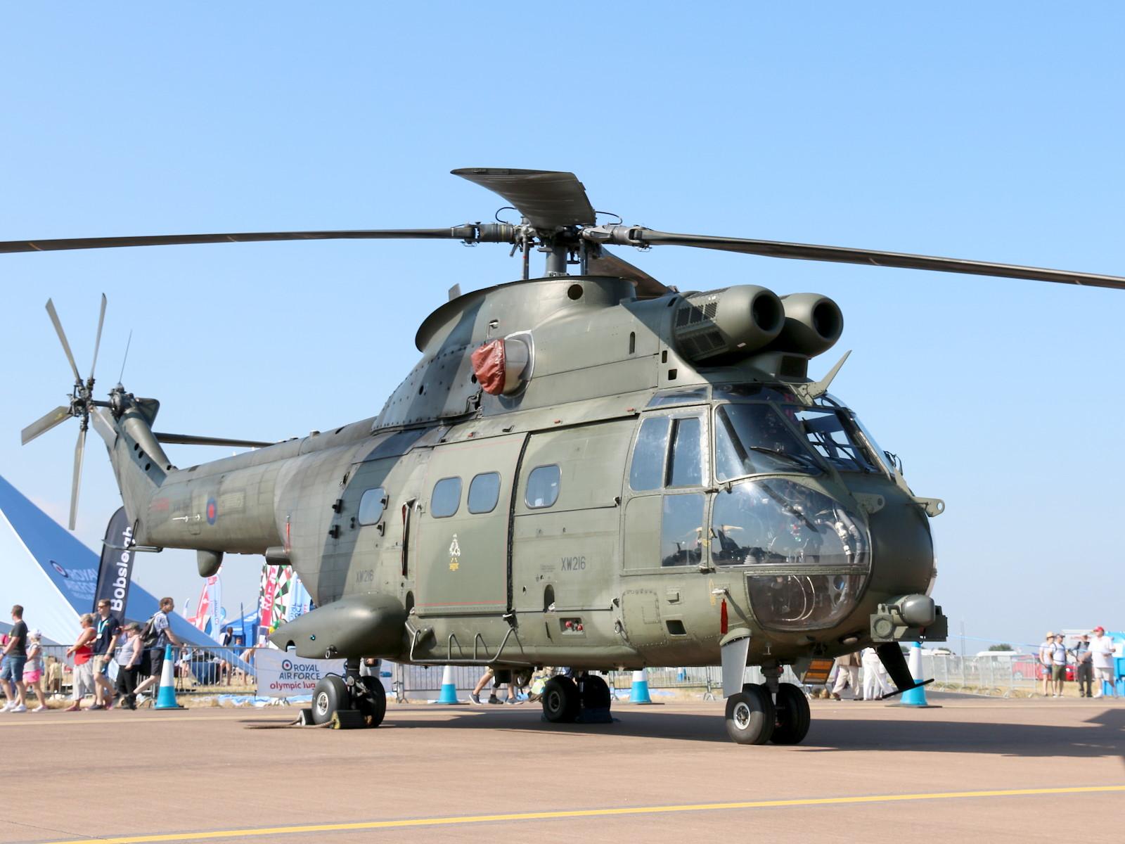 Aerospatiale SA330E Puma / Westland Puma HC.2 mit Kennung XW216 © Doppeladler.com