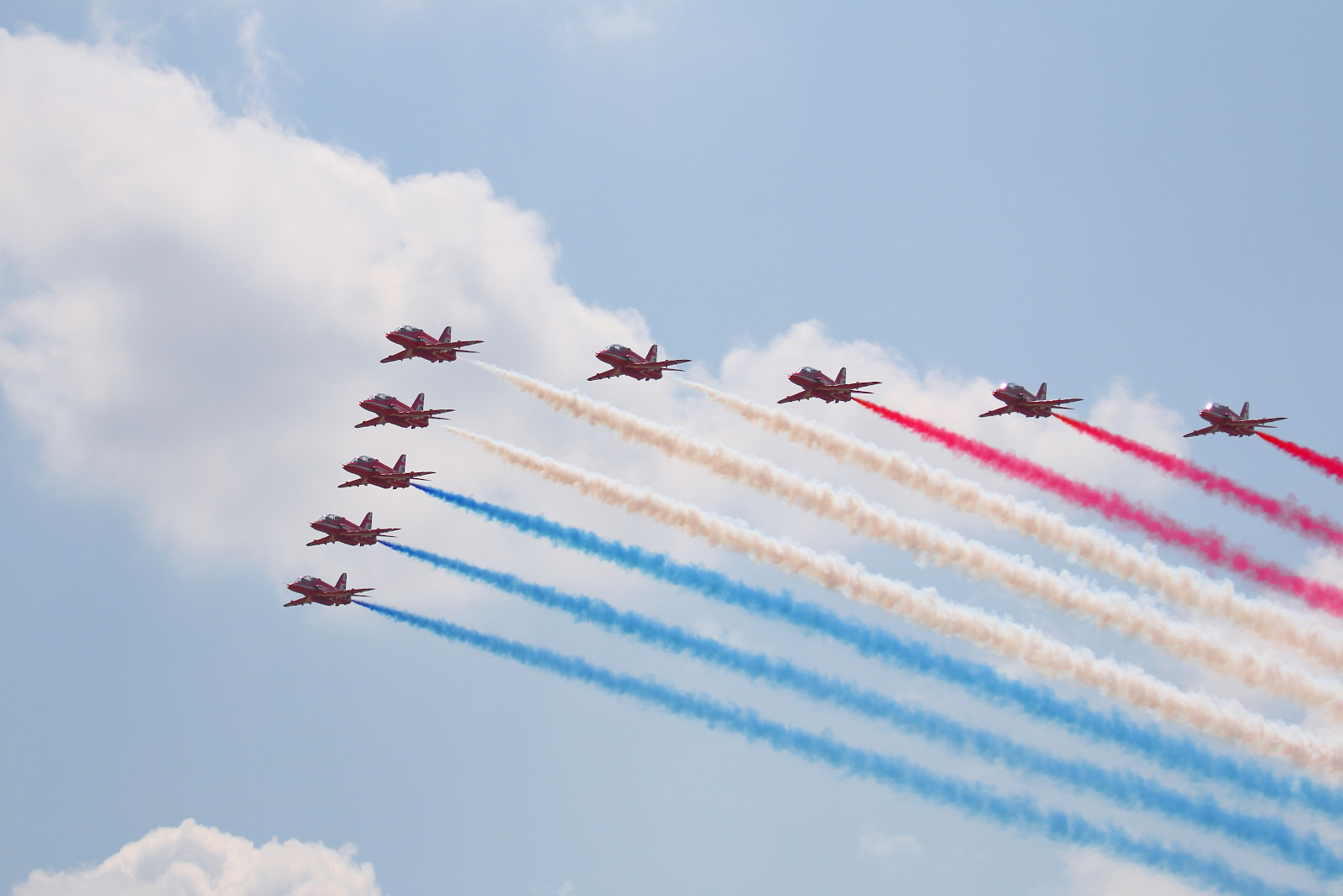 Red Arrows auf BAE Systems Hawk T1 © Doppeladler.com