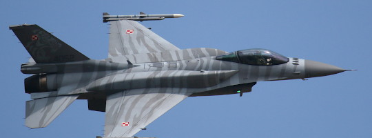 Polnische F-16 bei der RIAT 2018 © Doppeladler.com