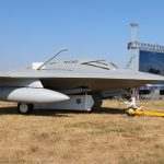 Northrop Grumman X-47B Pegasus Demonstrator 68063 im US Navy Kleid © Doppeladler.com