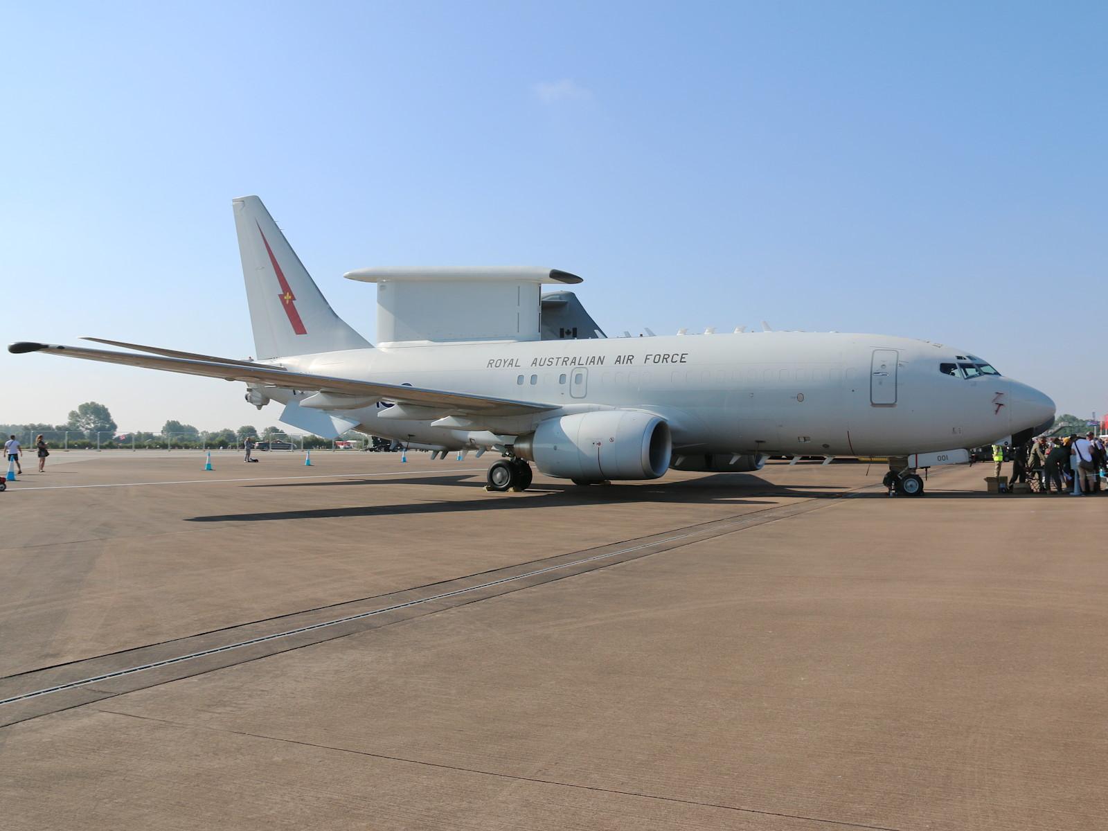 Royal Australian Air Force Boeing E-7A Wedgetail Frühwarnflugzeug (737-7ES) A30-001 © Doppeladler.com