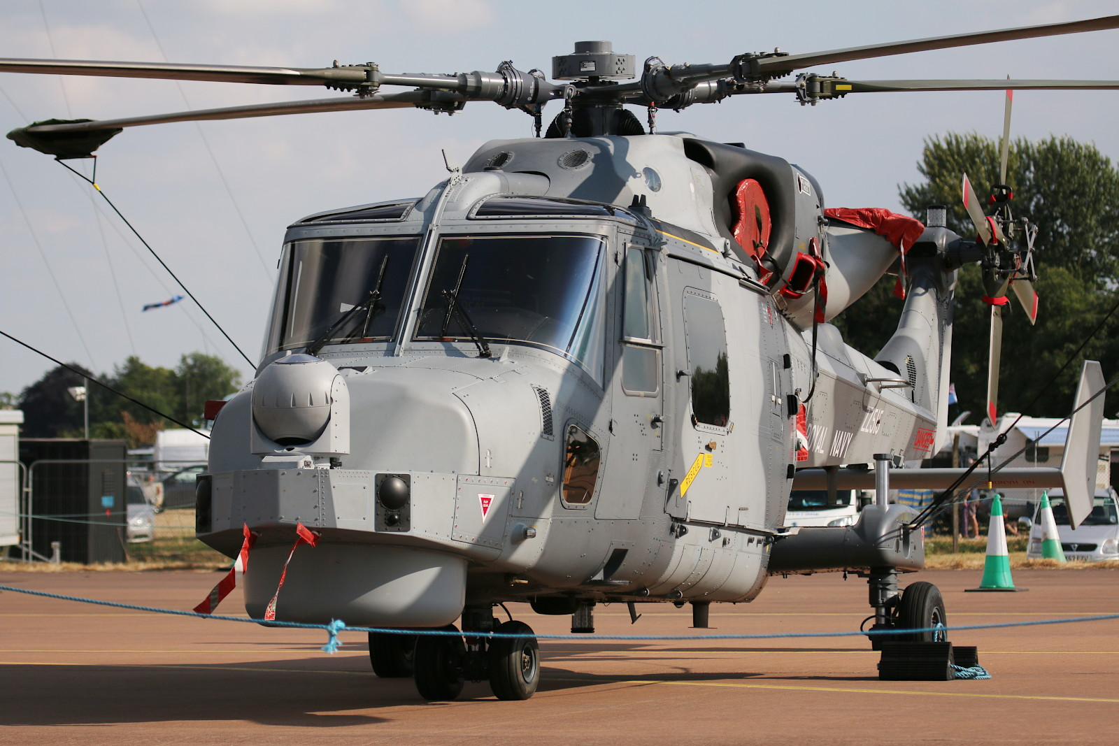 AgustaWestland AW159 Wildcat HMA2 ZZ515 der Fleet Air Arm (Royal Navy) © Doppeladler.com