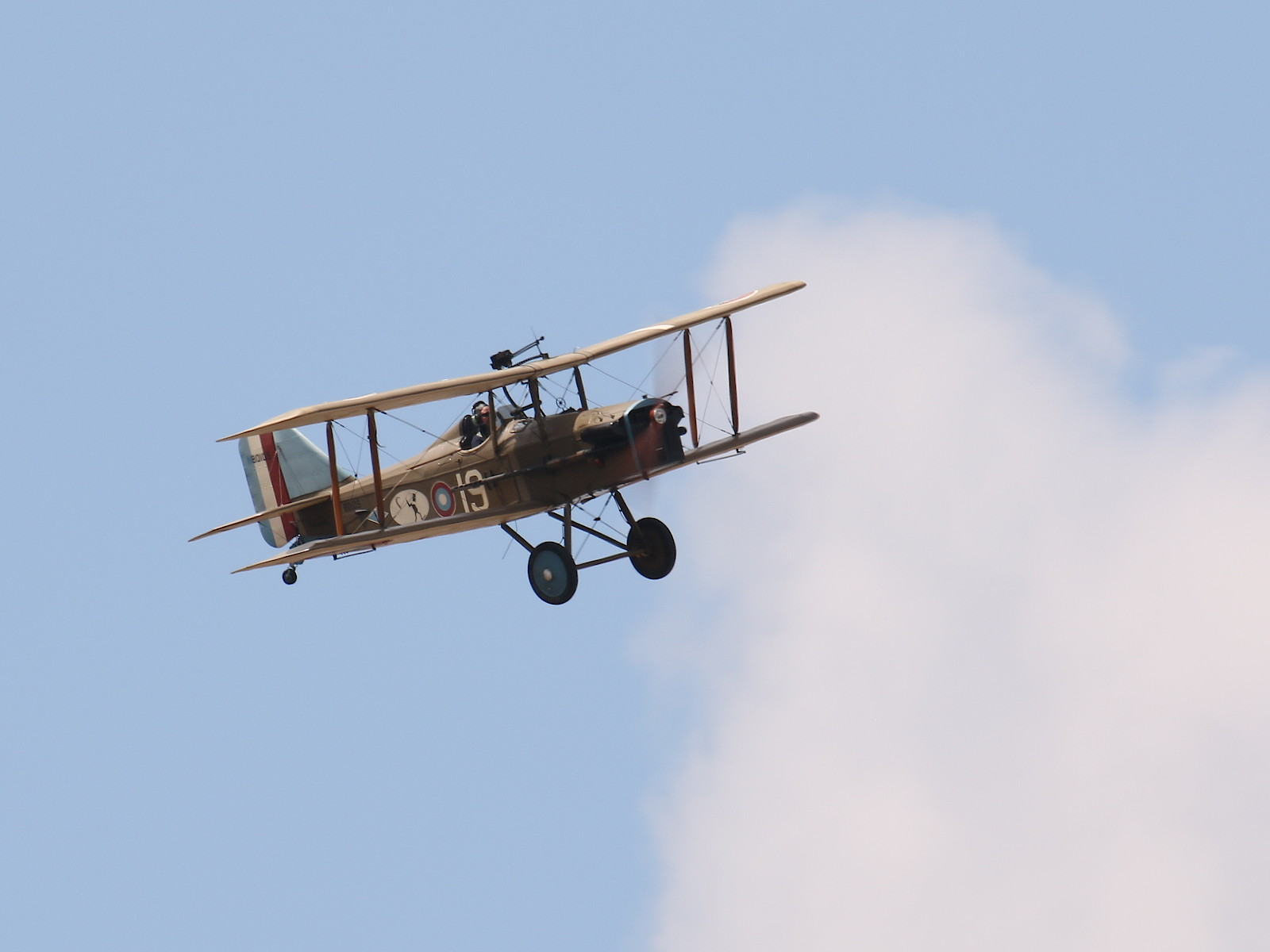 Royal Aircraft Factory SE-5A Replica G-CCBN 80105 © Doppeladler.com