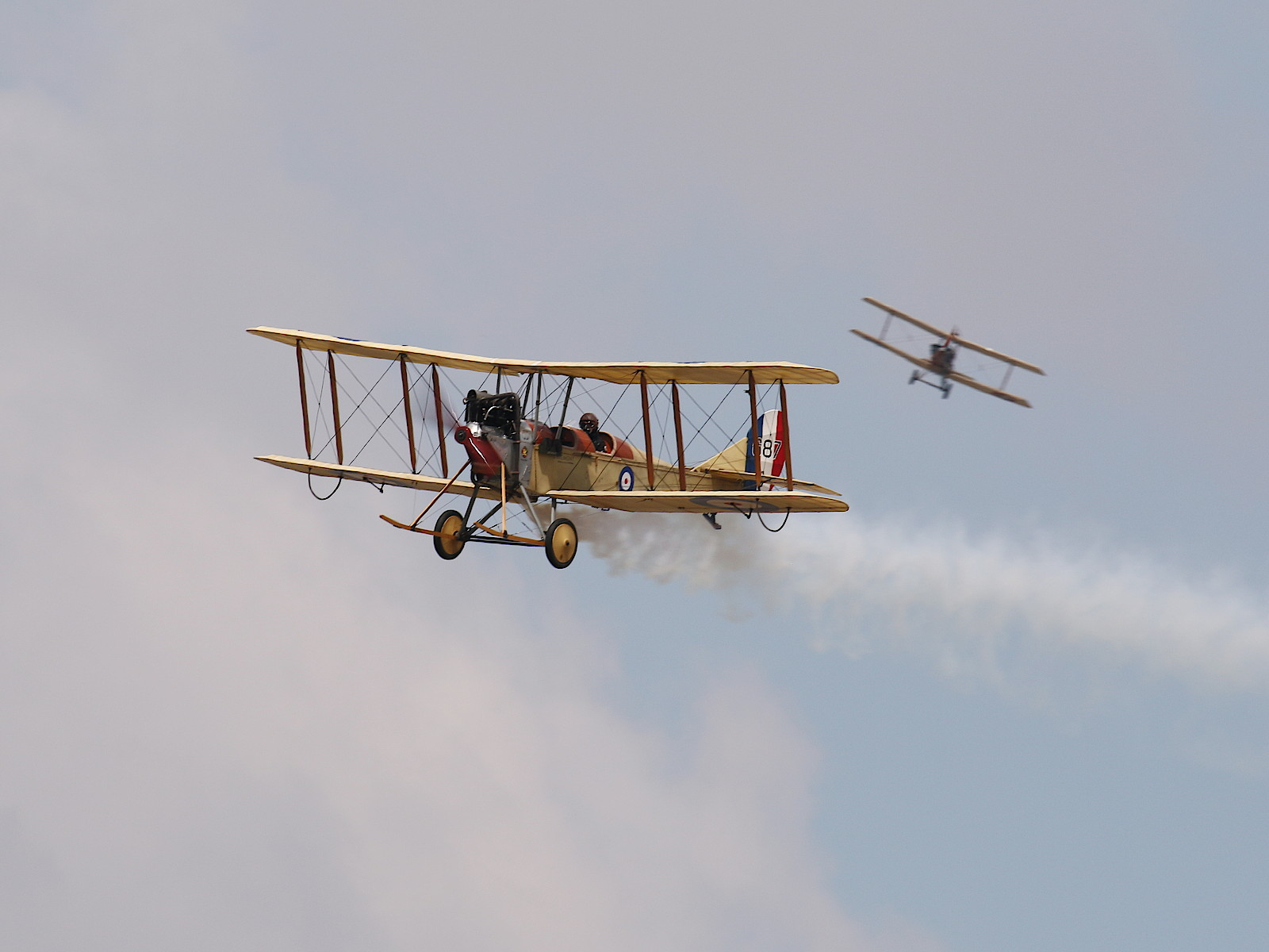 Royal Aircraft Factory BE2c 687 © Doppeladler.com