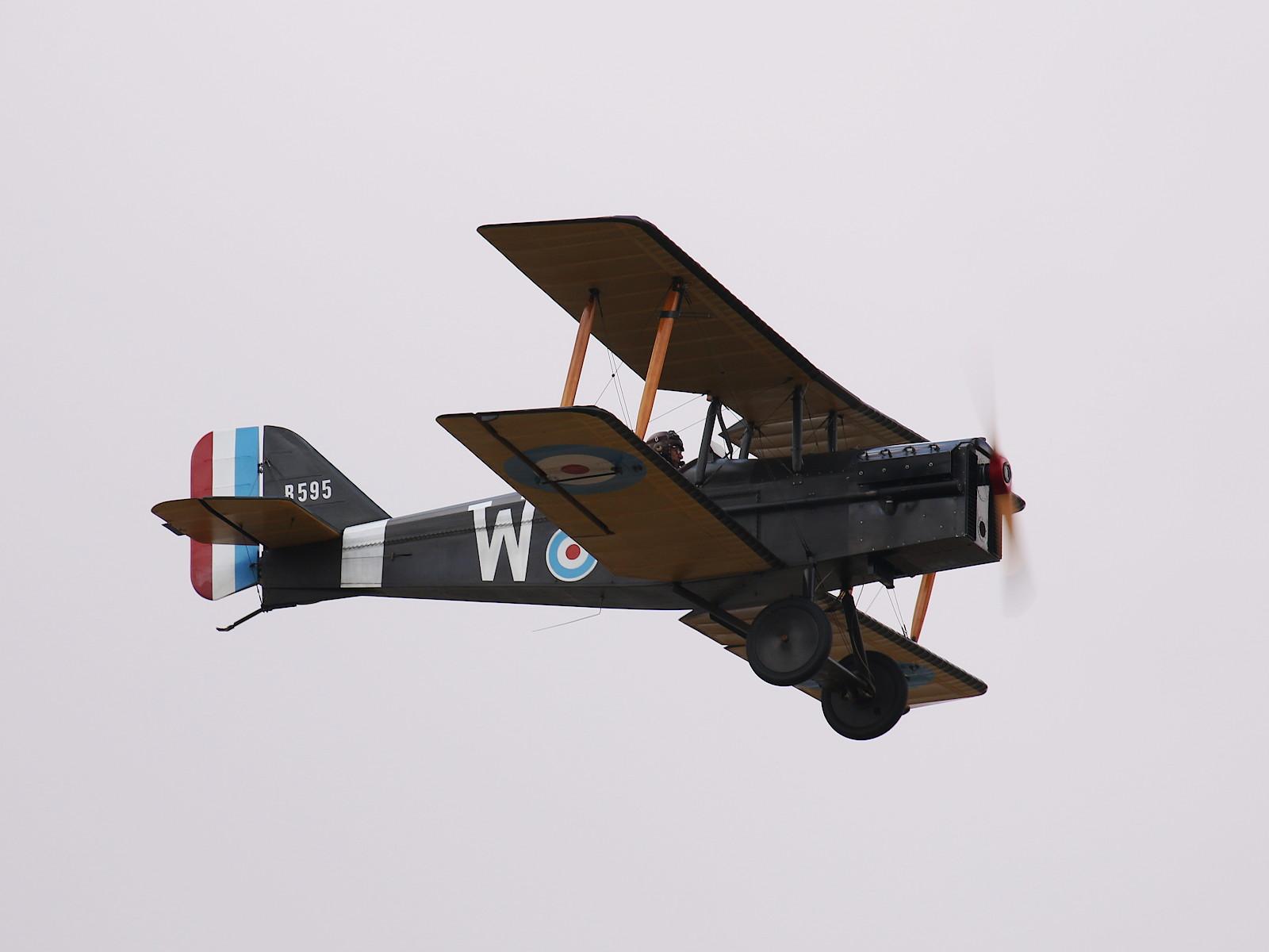 Royal Aircraft Factory SE-5A Replica G-BUOD B595 © Doppeladler.com