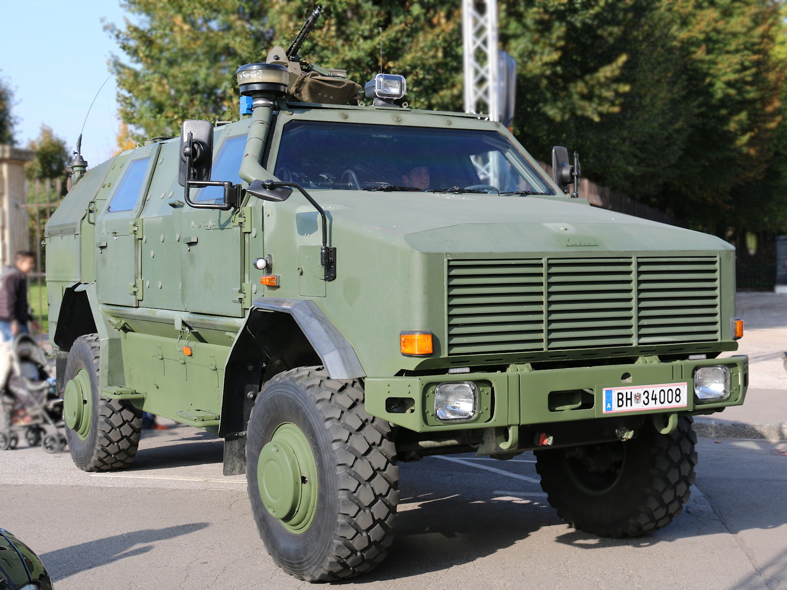 ATF Dingo 2 als Patrouillen- und Sicherungsfahrzeug © Doppeladler.com
