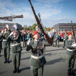 Showexerzieren der Garde © Bundesheer