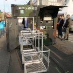 Abgesetztes Modul zur Gerätedekontamination des Dekontaminationssystems Mammut © Doppeladler.com