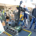 EOD-Roboter tEODor von Telerob zur Bombenentschärfung © Doppeladler.com