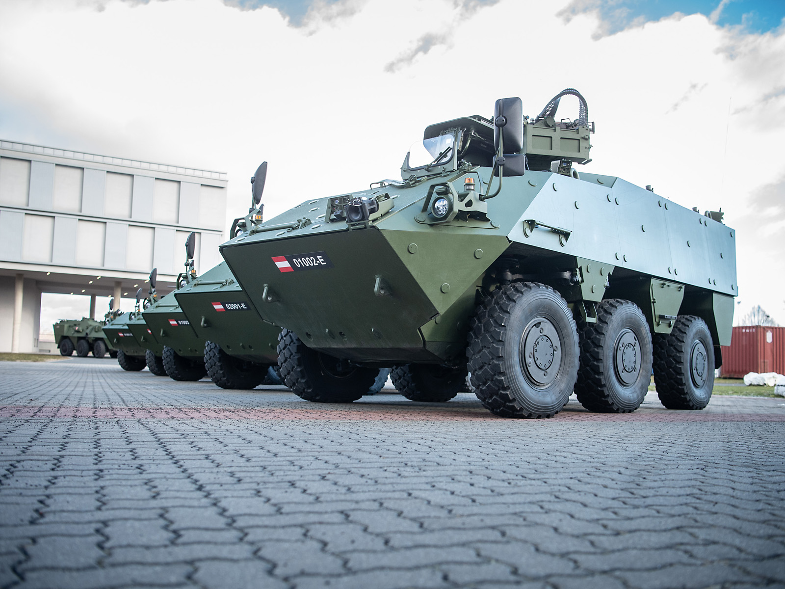 Mannschaftstransportpanzer PANDUR EVO © Bundesheer