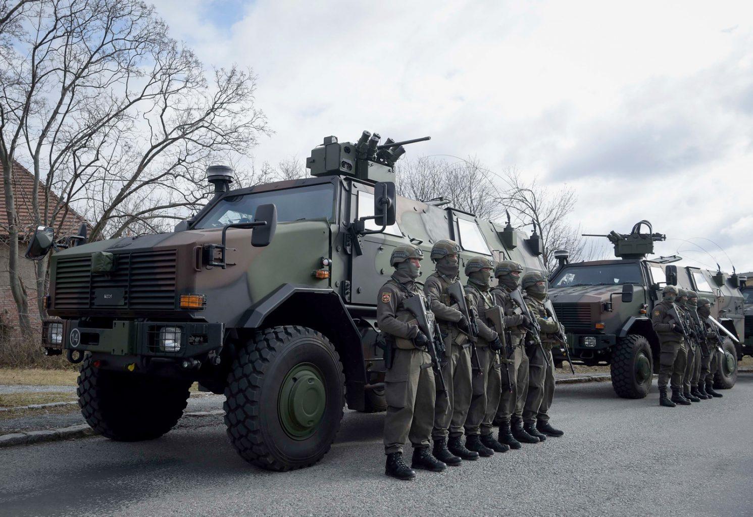 Allschutzfahrzeug DINGO 2A3 PatSi (Patrouillen-/Sicherungsfahrzeug) © Bundesheer