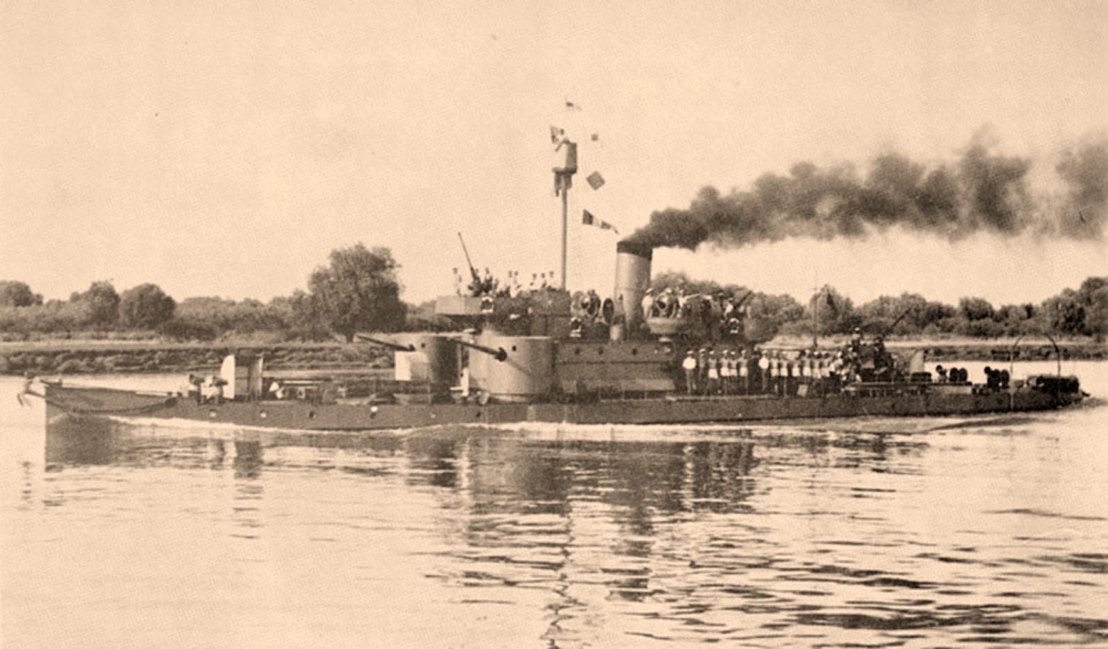 Monitor SAVA im Jahr 1943 © Archiv