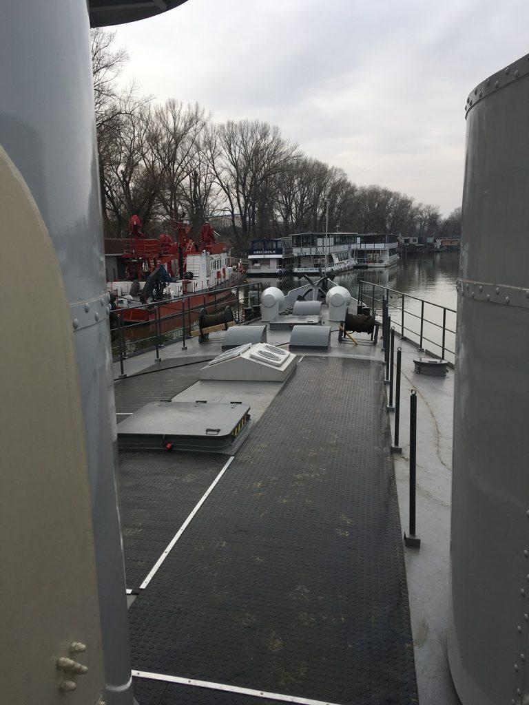 Das Museumsschiff BODROG / SAVA © Sammlung B. Prodanic