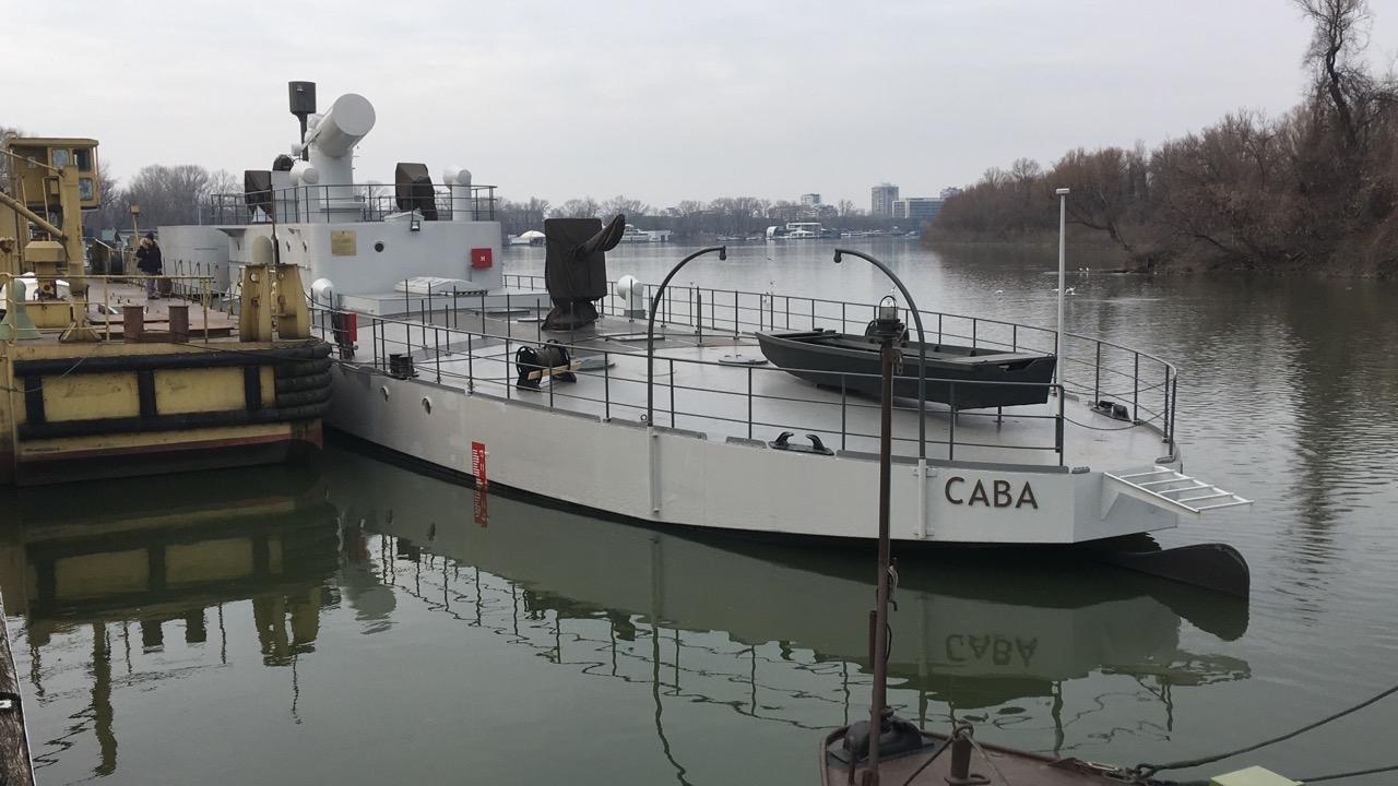 SMS BODROG / SAVA an der Save-Mündung in Belgrad © Sammlung B. Prodanic