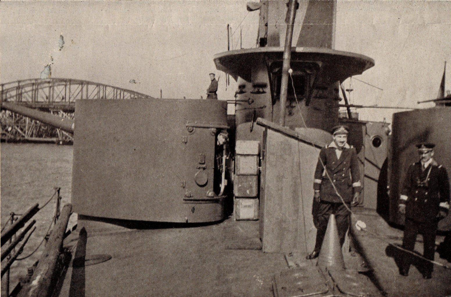 12 cm Geschützturm der SMS BODROG © Archiv