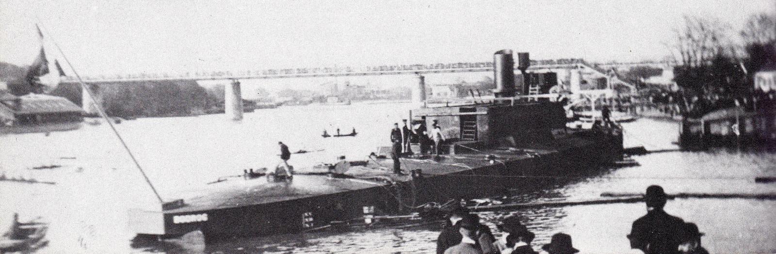 Stapellauf der SMS BODROG am 12.04.1904 © Archiv