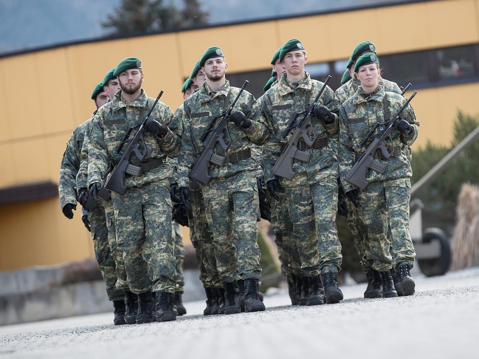 Tarnanzug NEU © Bundesheer