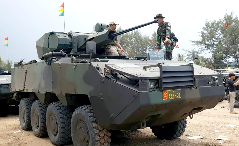PANDUR II / COBRA mit Ares UT30KM.II Turm