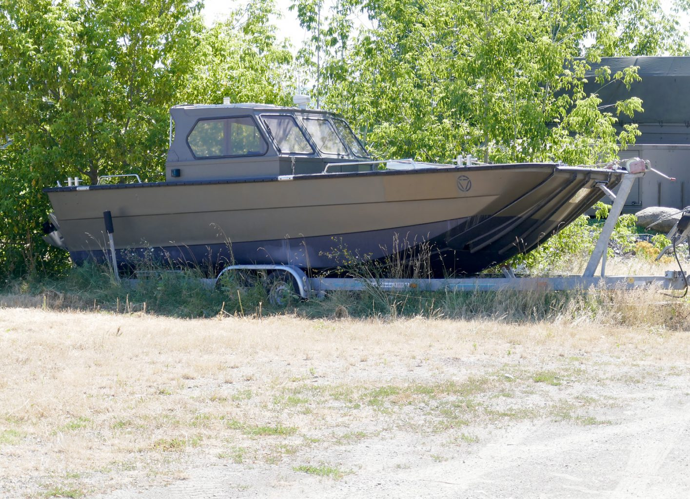 Prüf- und Messboot BULLITT PT des ARWT/PT - Amt für Rüstung und Wehrtechnik - Pioniertechnik © Doppeladler.com
