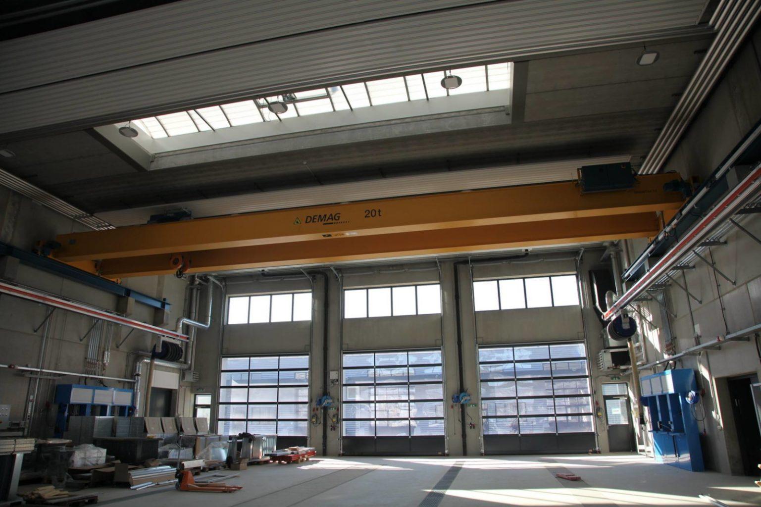 Neue Werkstätten und Garagen in der erweiterten Birago Kaserne © Melker Pioniere