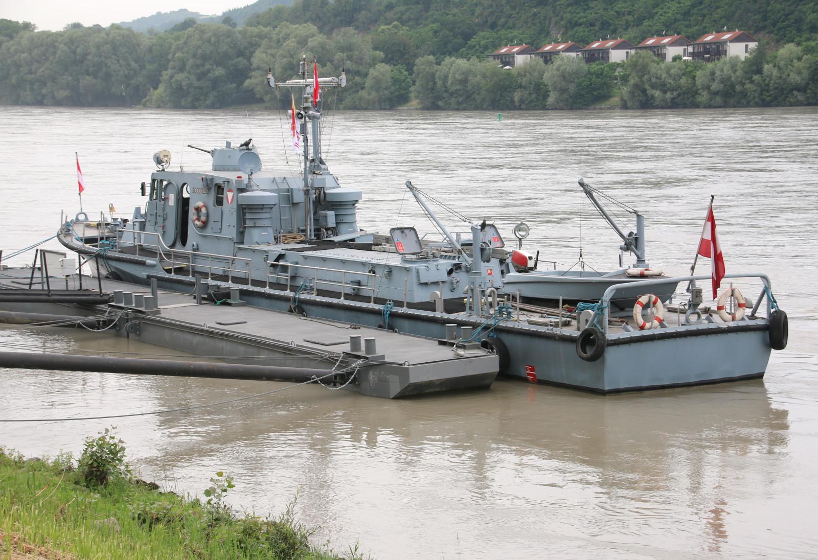 Patrouillenboot Niederösterreich© Doppeladler.com