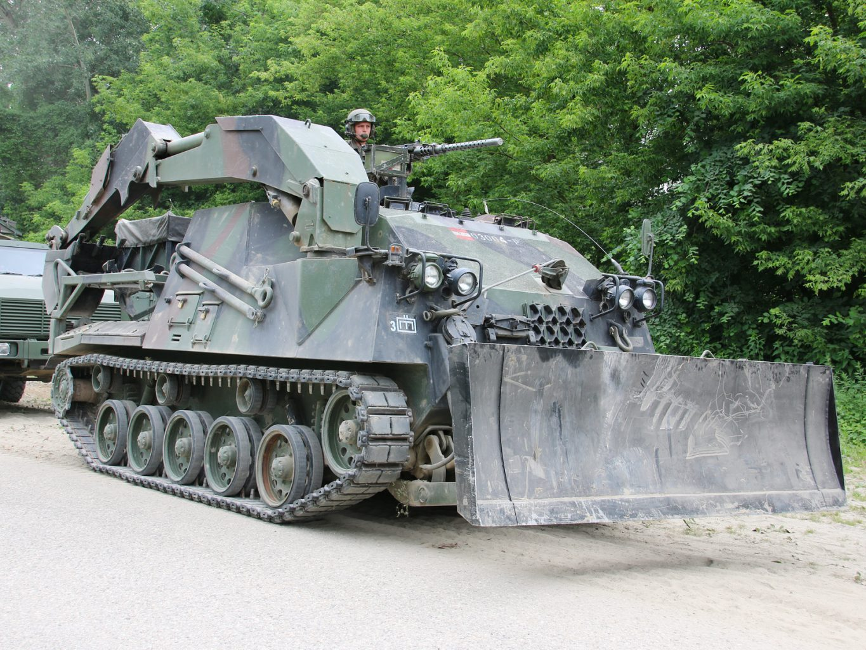 Pionierpanzer A1 4KH7FA auf dem Fahrgestell der Saurer / Kürassier Familie © Doppeladler.com