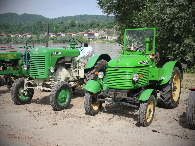 Historische Steyr-Traktoren © Doppeladler.com