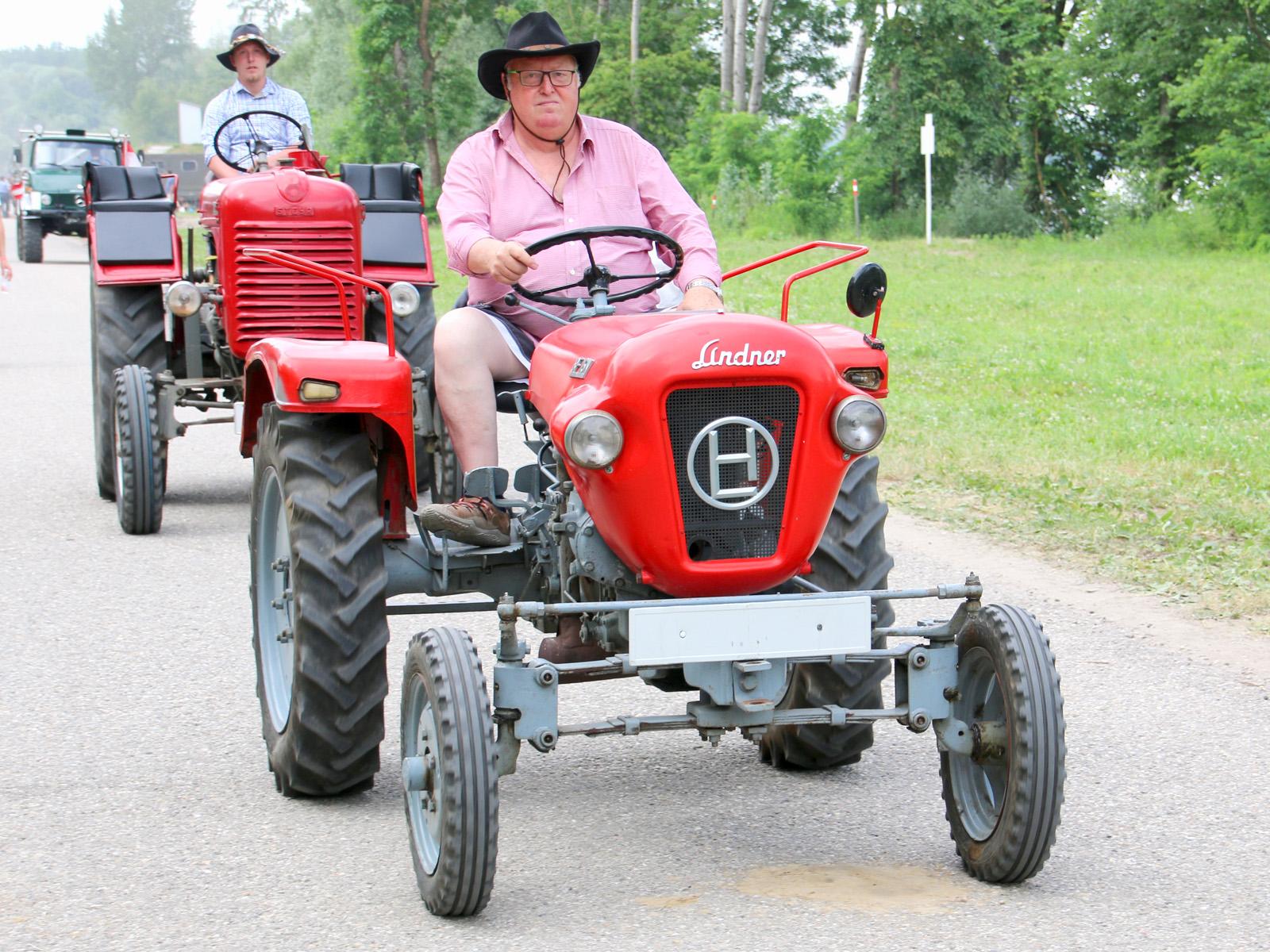 Historischer Lindner-Traktor © Doppeladler.com