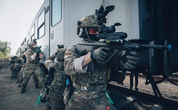 Jagdkommando im Einsatz © Bundesheer