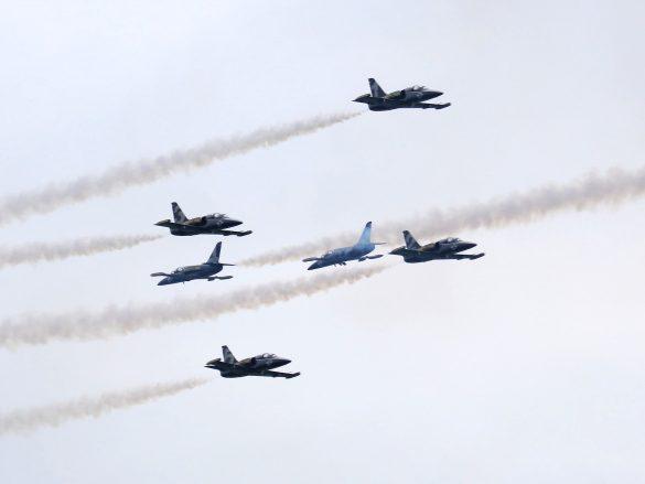 Breitling Jet Team (Aero L-39C Albatros) © Doppeladler.com