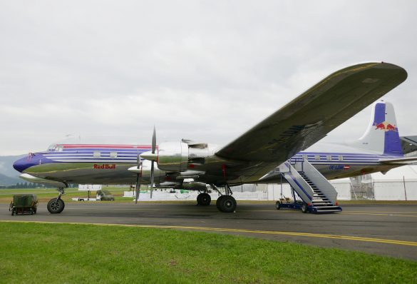 Douglas DC-6B 'OE-LDM' © Doppeladler.com