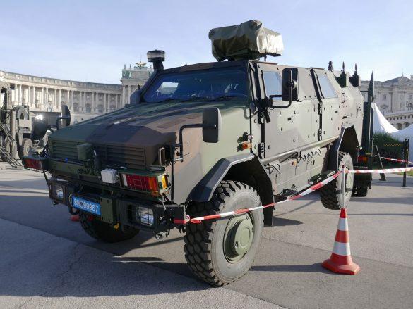 Neuer Dingo 2 A3 PatSi mit Waffenstation WS4 Panther (Herstellerbezeichnung DINGO 2 A3.3). 58 Stk wurden bestellt © Doppeladler.com