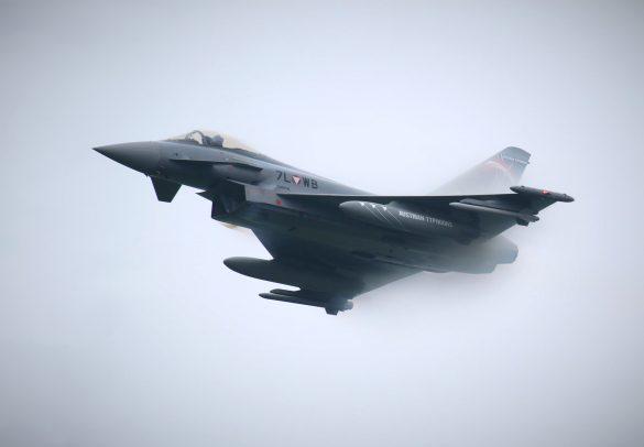 Eurofighter Typhoon '7L-WB' der österreichischen Luftstreitkräfte © Doppeladler.com