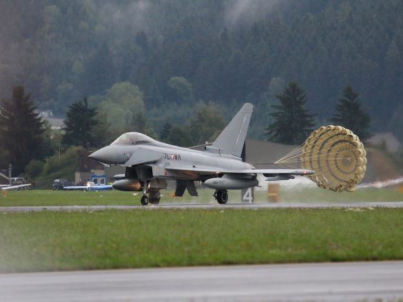 Eurofighter Typhoon '7L-WM' der österreichischen Luftstreitkräfte © Doppeladler.com