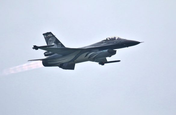 General Dynamics F-16AM Fighting Falcon 'FA-101' - die Dark Falcon aus Belgien © Doppeladler.com