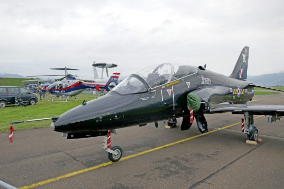 BAe Systems Hawk T1A 'XX321' der Royal Air Force © Doppeladler.com