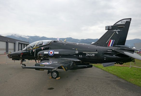 BAe Systems Hawk 128 T.2 'ZK026' der Royal Air Force © Doppeladler.com