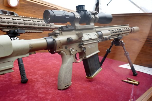 7,62 mm leichtes Scharfschützengewehr lSSG Heckler & Koch 417 P (Ö) © Doppeladler.com